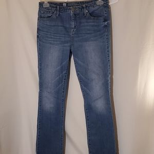 Mossimo jeans short and curvy bootcut